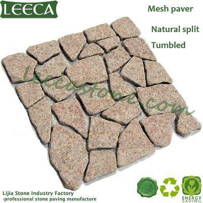 Garden Edging Stone Irregular Pattern Granite Paver