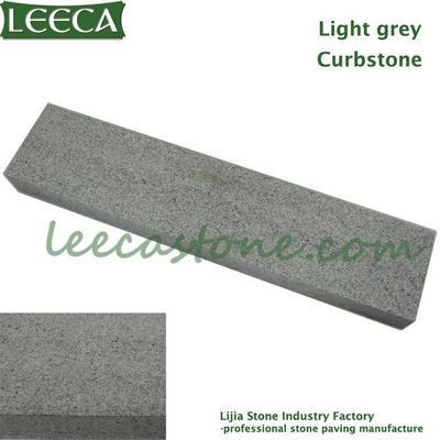Granite light grey curbstone paver