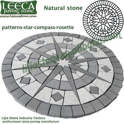 Garden Paver Landscaping Circle Kit