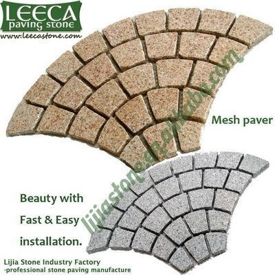 Outdoor stone for driveway,china paver,pathway mats