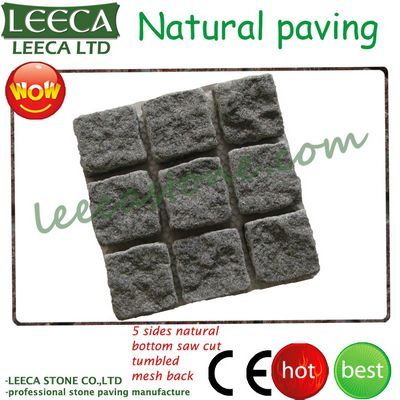 Natural stone mesh paver interlock tiles