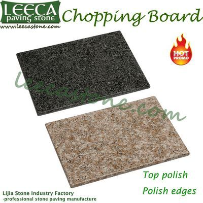 Natural Granite Chopping Block Cutting Board Leeca The
