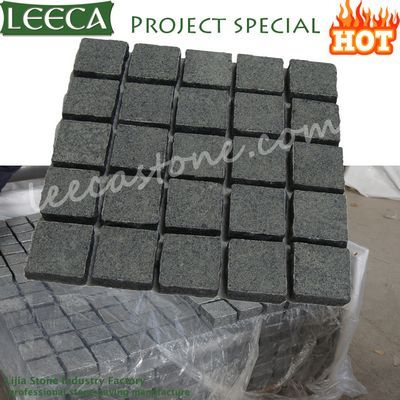 Natural paving stone black carpet paver