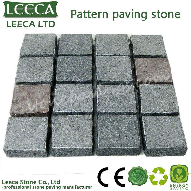 High quality square beautiful pattern paving stone