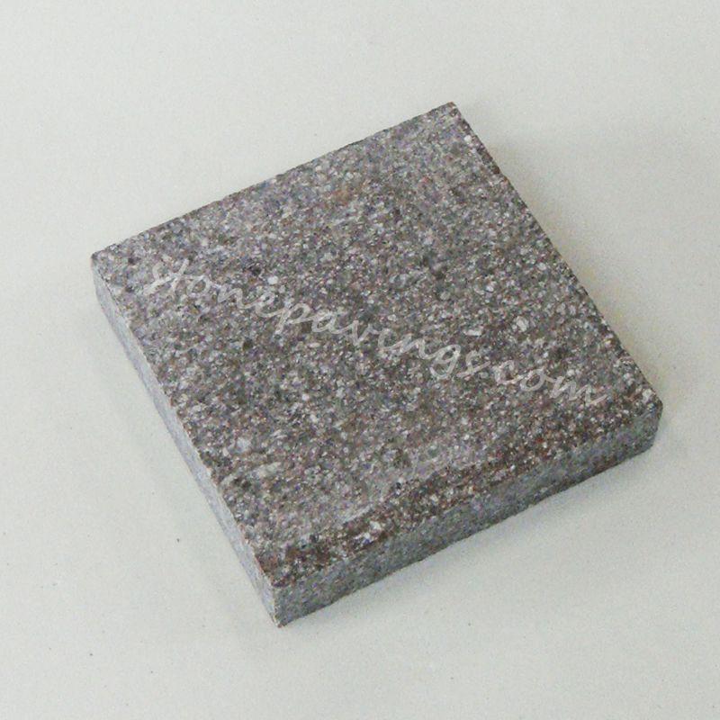 Red Natural Stones : Small natural granite red stone brick leeca the