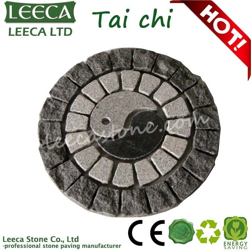 Supreme Pole Tai Chi Decorative Garden Stone Leeca The