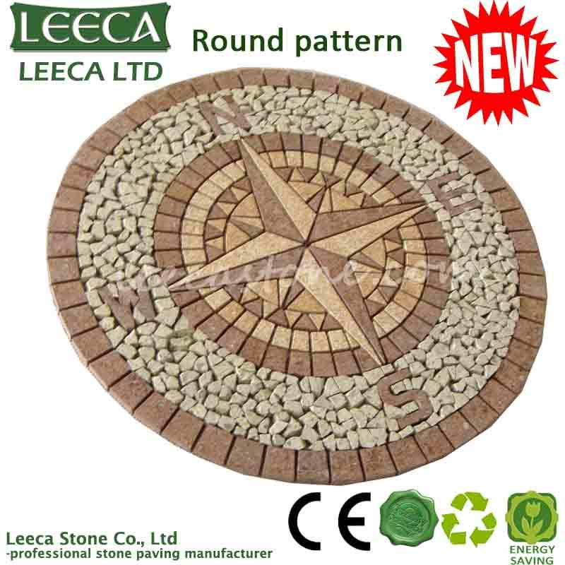 ODM service Star compass paving stone
