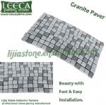 Chinese natural granite cobblestone mat ledgestone