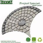 Round paver stone turf stone pavers outdoor tiles