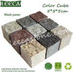 Granite paver garden stone cube stone