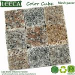 Cheap paving stone mesh cobblestone pavers