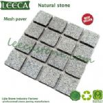 China light grey granite paver tile cheap paving stone