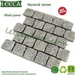 Interlocking cube stone mesh cobblestone pavers Jidda