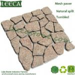 Leeca Irregular paver cheap paving stone granite brick
