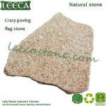 Crazy paving flagstone yellow granite pavers florida