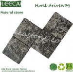 Hotel driveway natural cultural stone paving slab