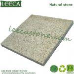 Beige yellow patio paver natural granite