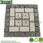 Square cut flagstone garden decor large stone pavers