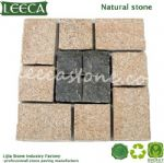 Square cut paver different kind of stones paver mat