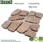Qatar crazy paving stone mesh paver irregular pattern paver