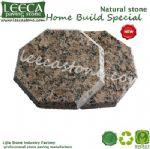Octagon granite natural stone paving tiles