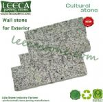 Wall stone for exterior gray granite cultural stone