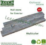 Multi color garden wall stone exterior cultural stone