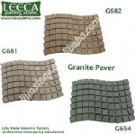Granite wavy paver outdoor tiles for garden decor