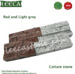 Garden wall stone cultural paver retaining wall