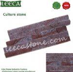 Porfido brick red stone cultural stone