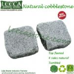 Natural granite G603 cobblestone paver
