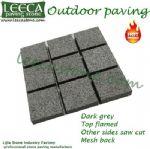 Granite cobblestone driveway mats