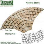 G682,outdoor stone mat,fan patterns