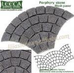 Stone exterior,pathway stone,mesh back cobble stones