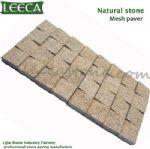 Paver driveway,net stones,paving mat