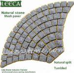 Cobblestones for sale,outdoor stone mat,fan patterns