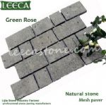 Interlocking cube,rectangle stone paver,mesh stone