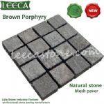 Cobble square,cubes,mesh stone