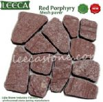 Irregular stone paver,random pattern,mesh stone