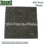 Mosaic tile,wall stone,black granite