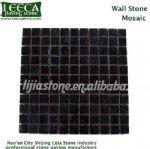 Stone mosaic,pavement tiles,stone on mesh