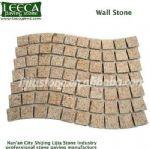Wavy stone paver,wall stone,mosaic pattern