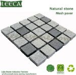 Stone cube,outdoor paving,cobble stone mat, Oman paving