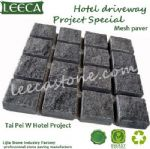 Granite dark grey driveway stone