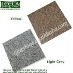 Granite grey, yellow board paving stone
