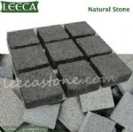 Granite block for driveway, belgian block