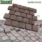 Porphyry/ porfido stone, interlocking paver mat