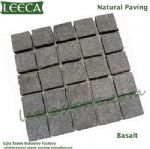 Basalt outdoor tiles for driveway