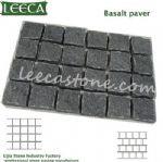 Cultural basalt paver stone