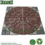 Free combination circle paving stone